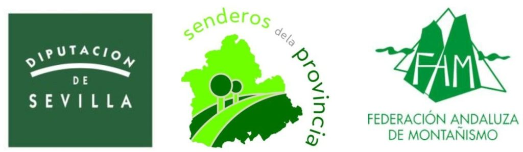 Cartel II Programa de Senderos de la Provincia de Sevilla
