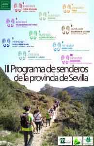 Cartel III Programa de Senderos de la Provincia de Sevilla